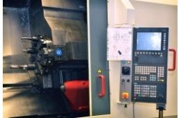 CNC soustruh MAS  SP 180 detail ovládání